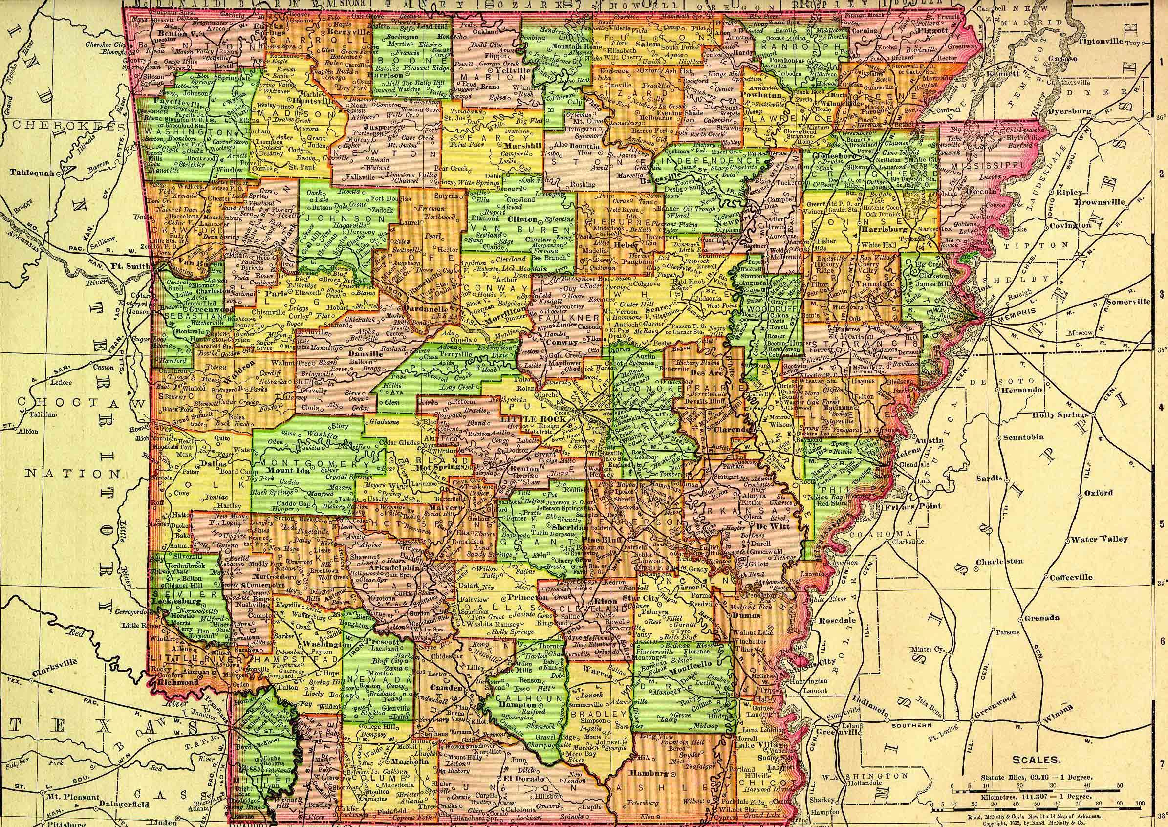 Arkansas: History