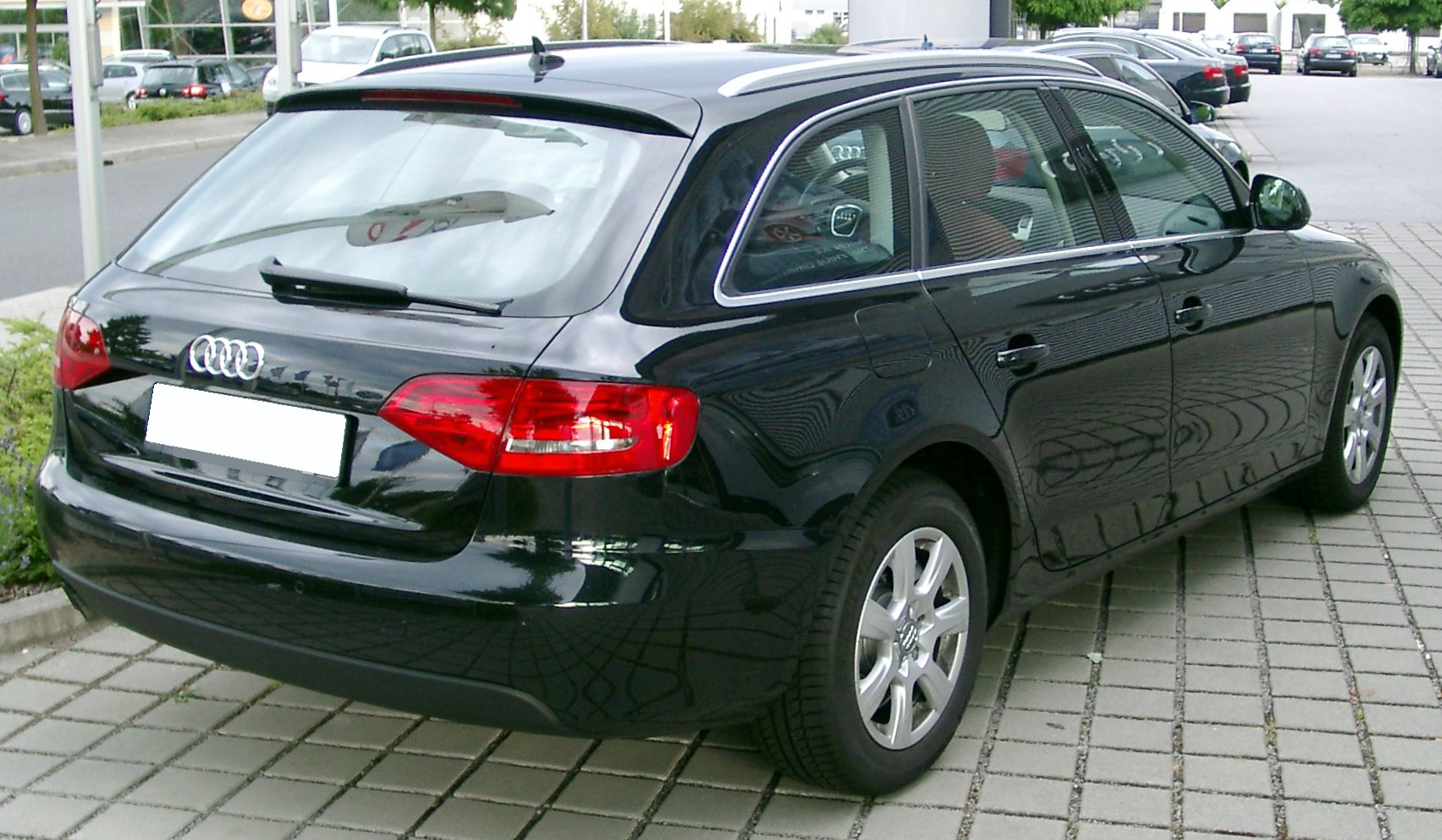 File Audi A4 B8 Avant Rear 20080620 Jpg Wikimedia Commons