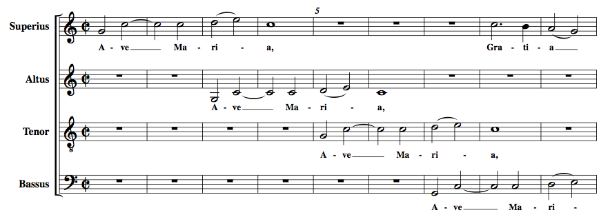 Ave maria lyrics in latin