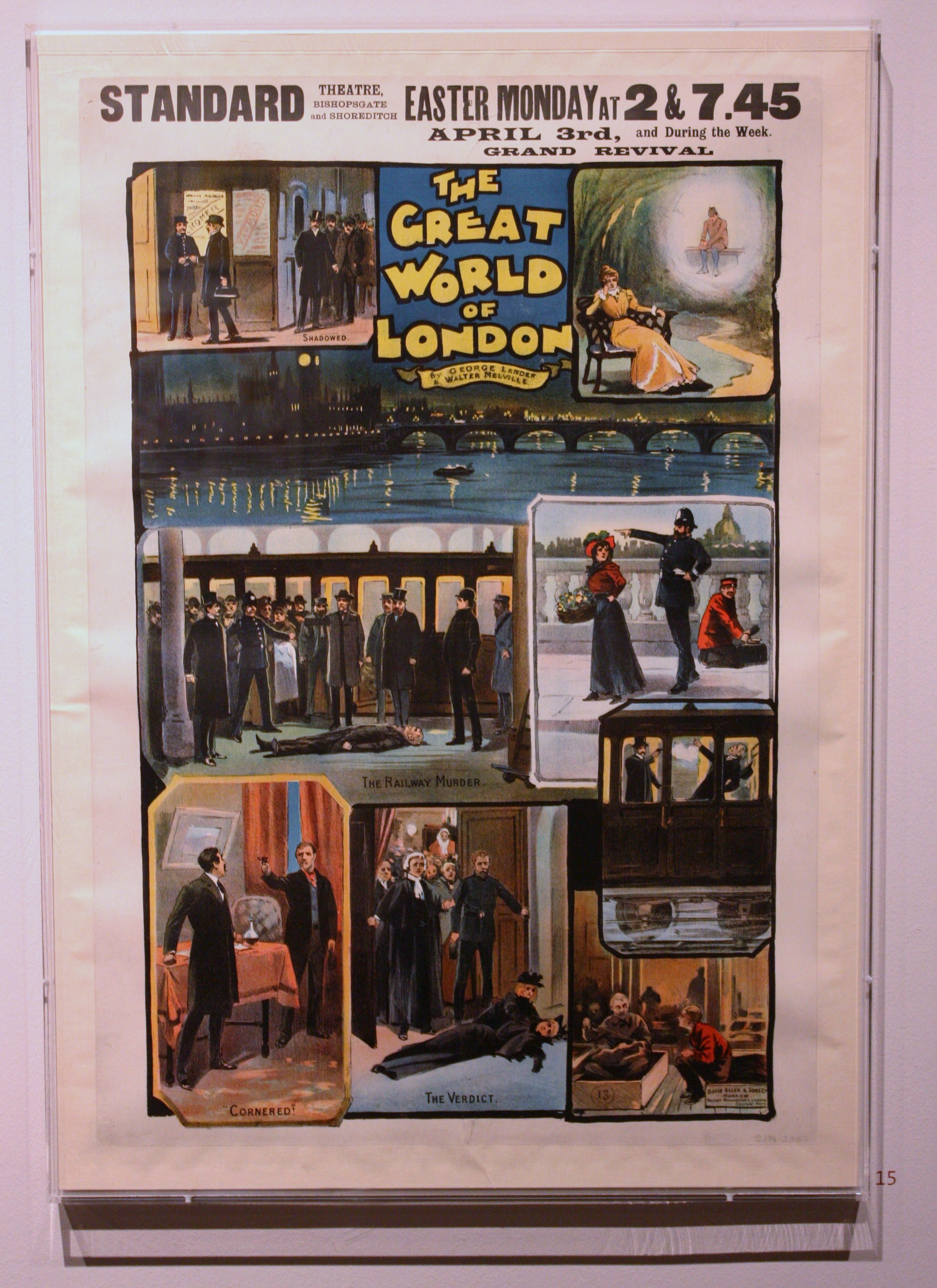 Poster For The Great World Of London At The Standard