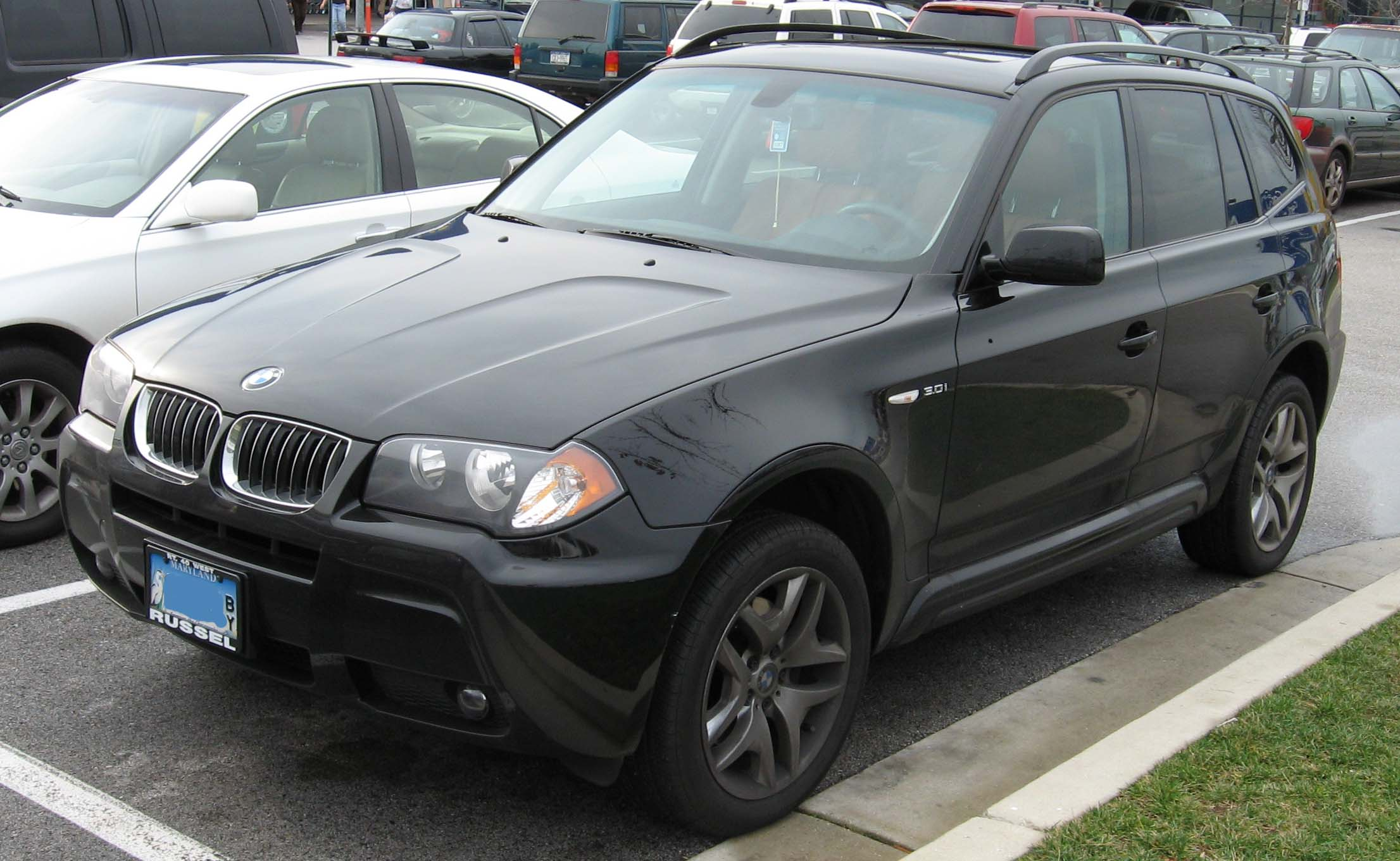 file bmw x3 wikimedia commons. Black Bedroom Furniture Sets. Home Design Ideas