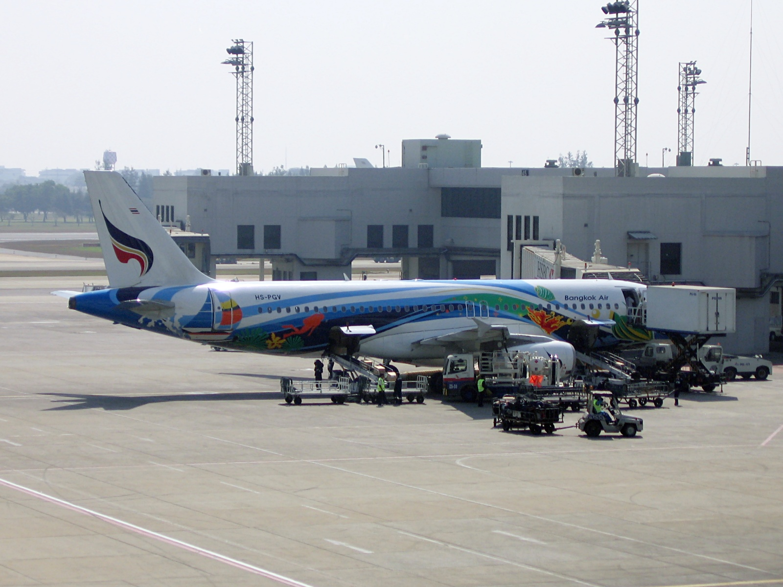 Depiction of Bangkok Airways