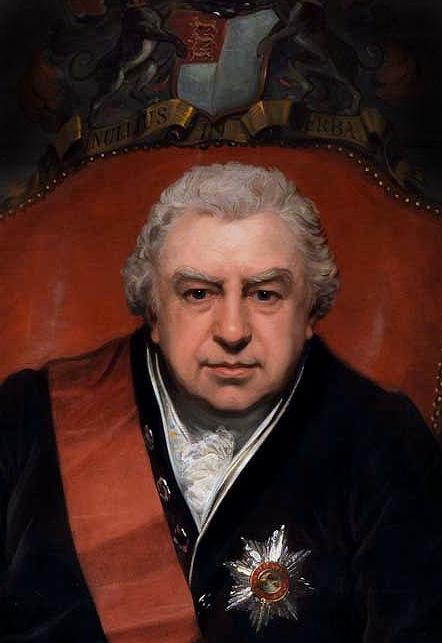 Depiction of Joseph Banks