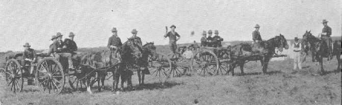 Battery A in Spanish-American War