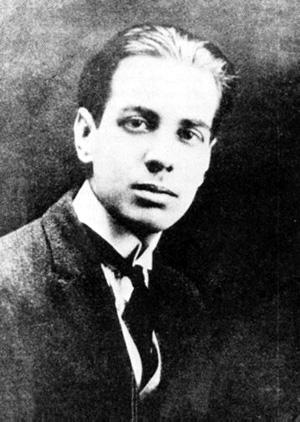 Borges en 1921.