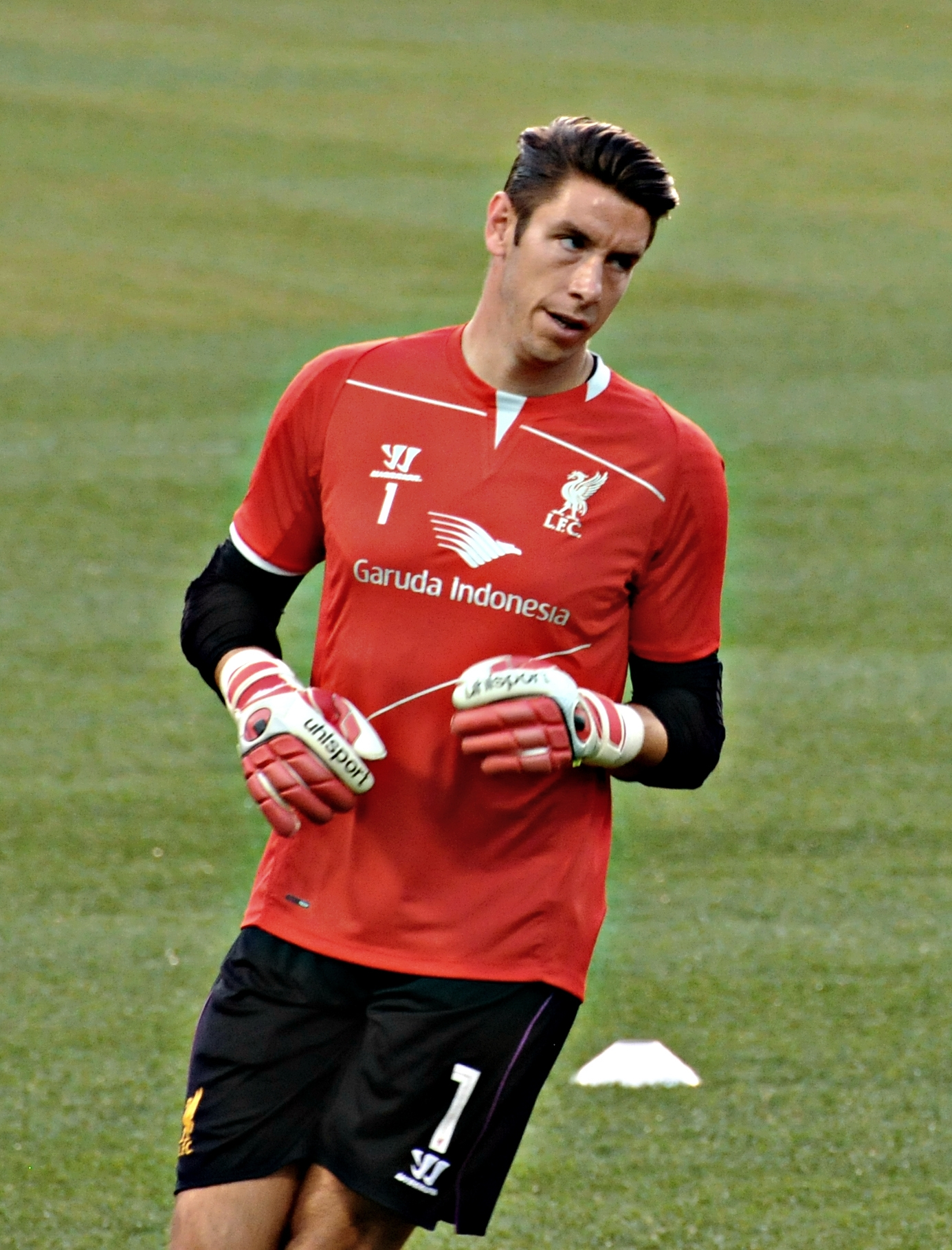 The 36-year old son of father (?) and mother(?) Brad Jones in 2018 photo. Brad Jones earned a  million dollar salary - leaving the net worth at 3 million in 2018
