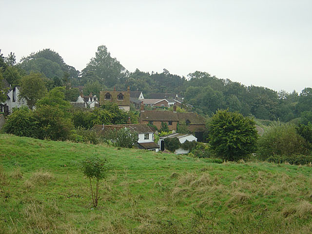 Brill village from Brill Common - geograph.org.uk - 538330