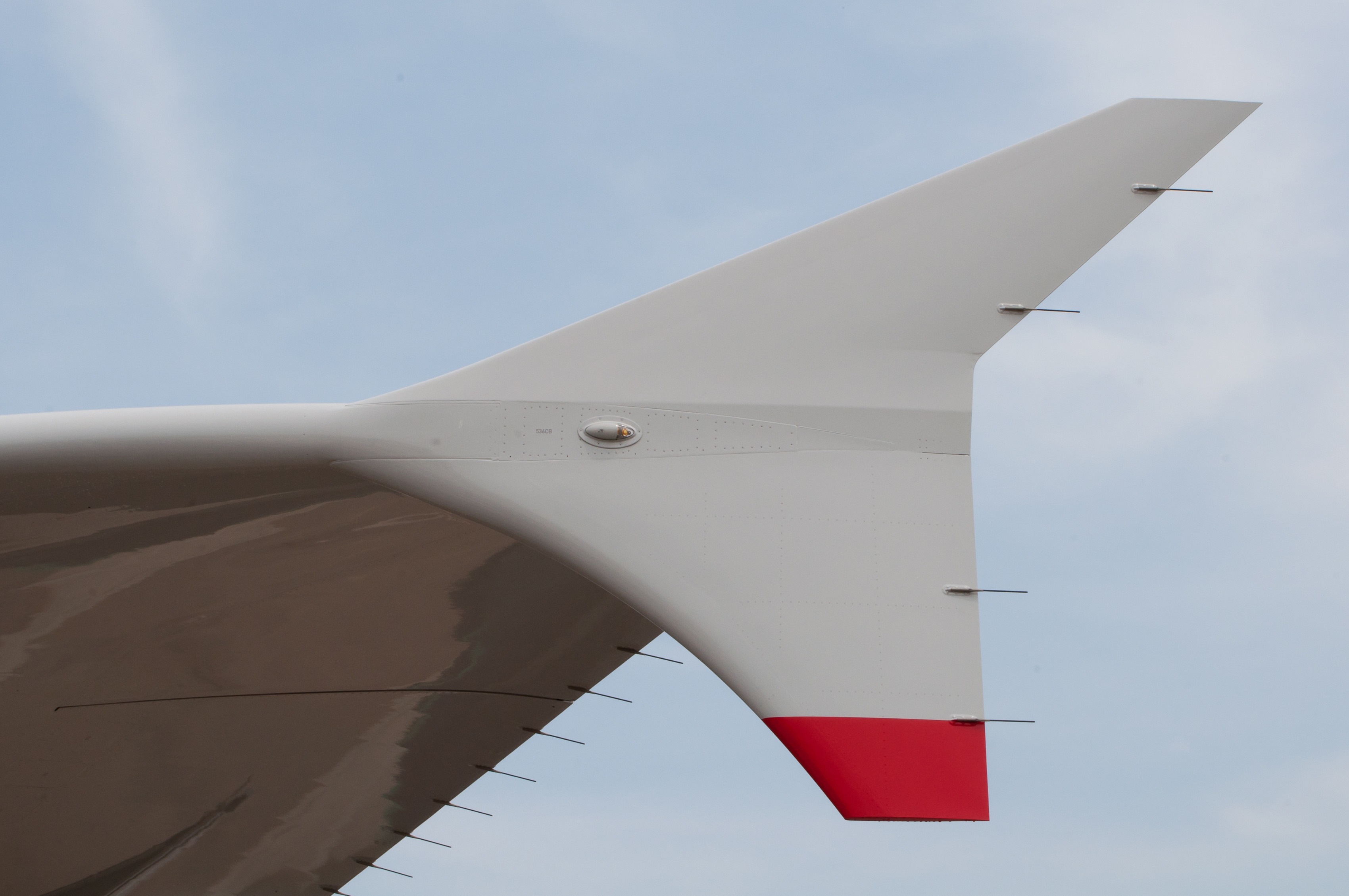 File:British Airways Airbus A380-841 F-WWSK PAS 2013 10 Wingtip device ...