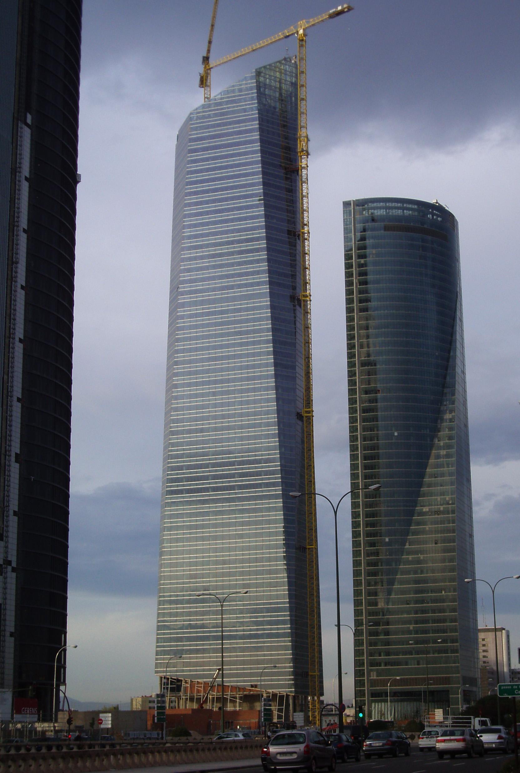edificio ms alto de espaa