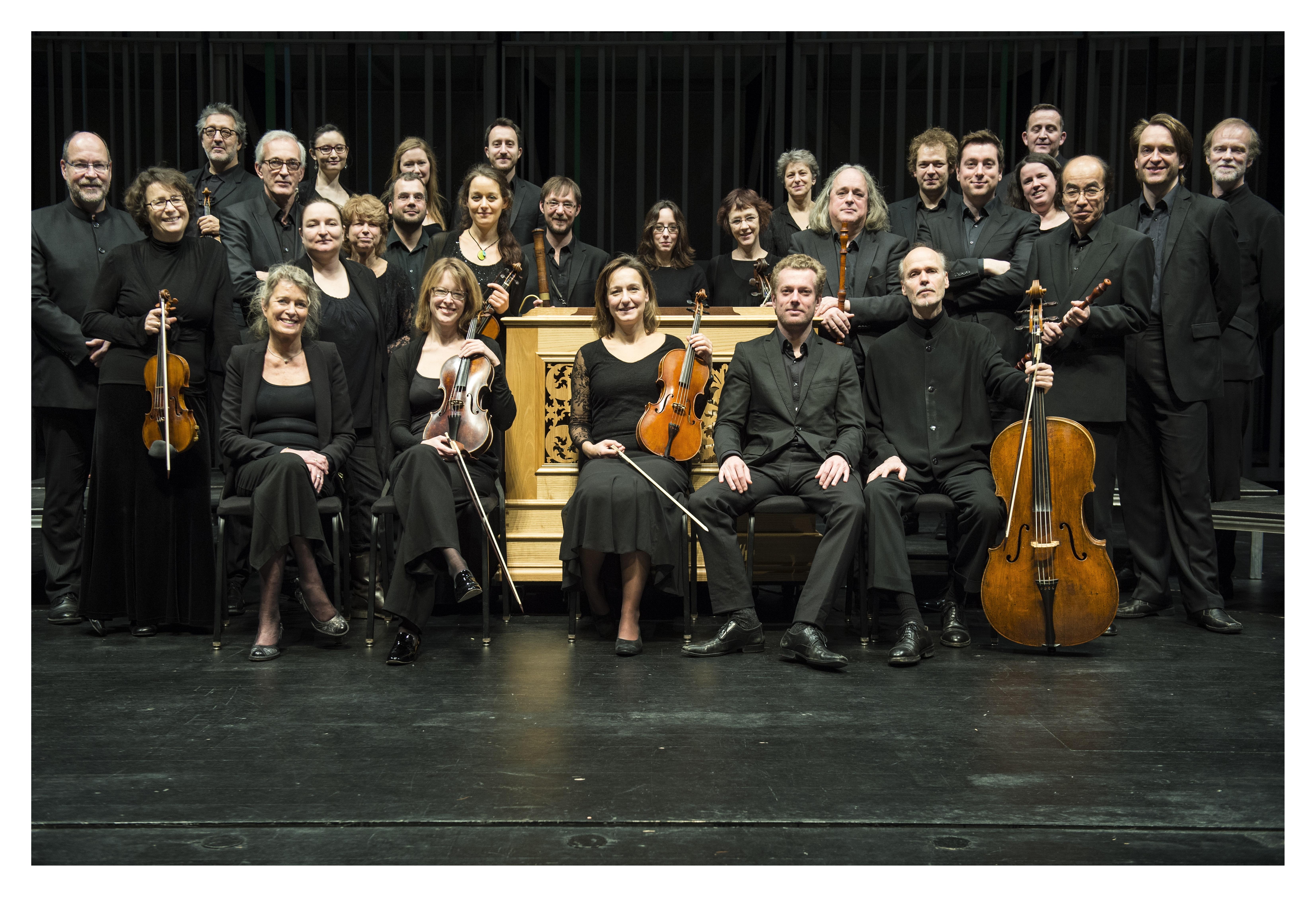 Collegium Vocale Gent, choir and orchestra
