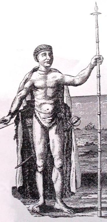 Depiction of Cacique