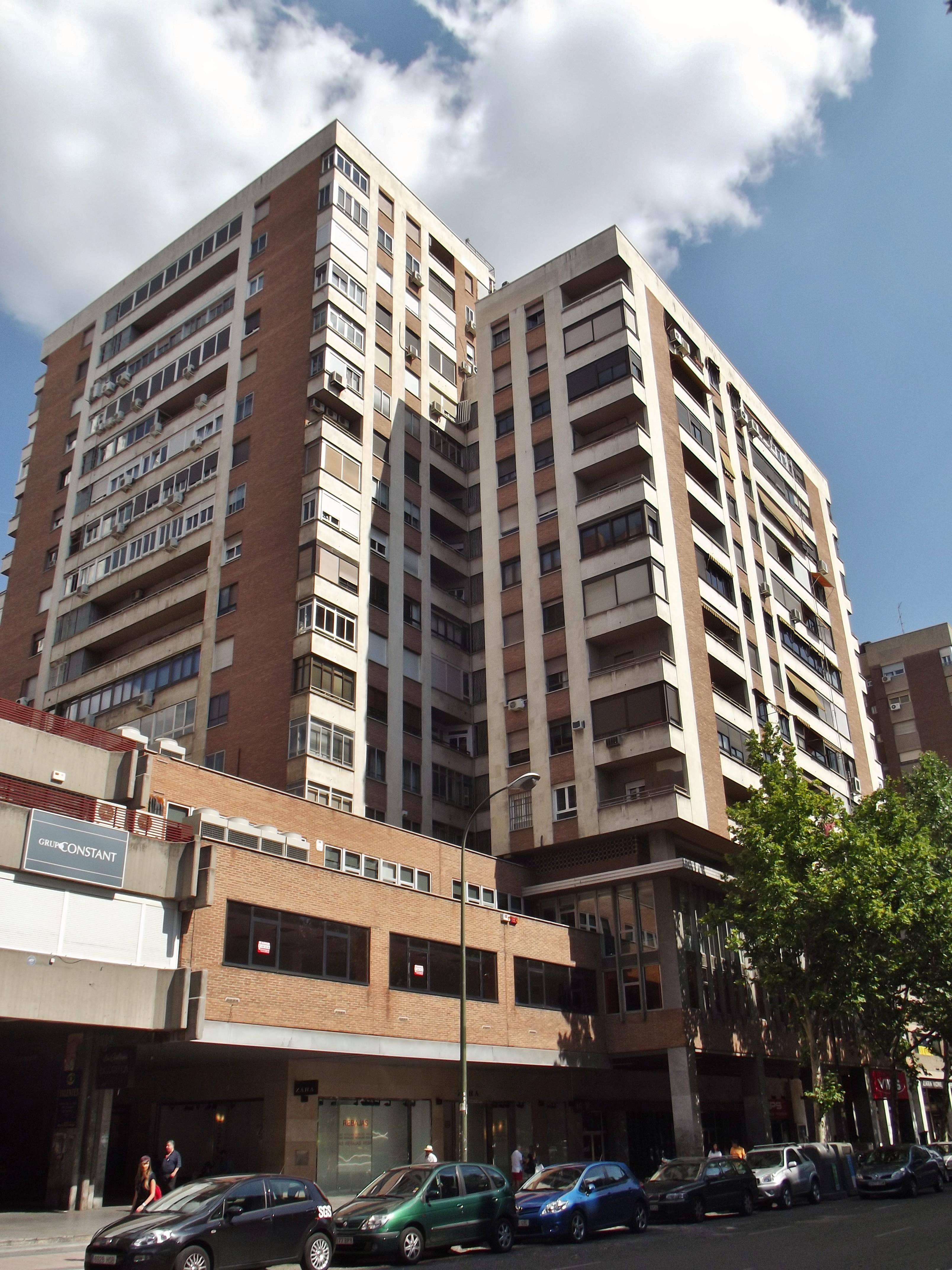 Archivo calle de orense 16 madrid jpg wikipedia la - Hm calle orense ...