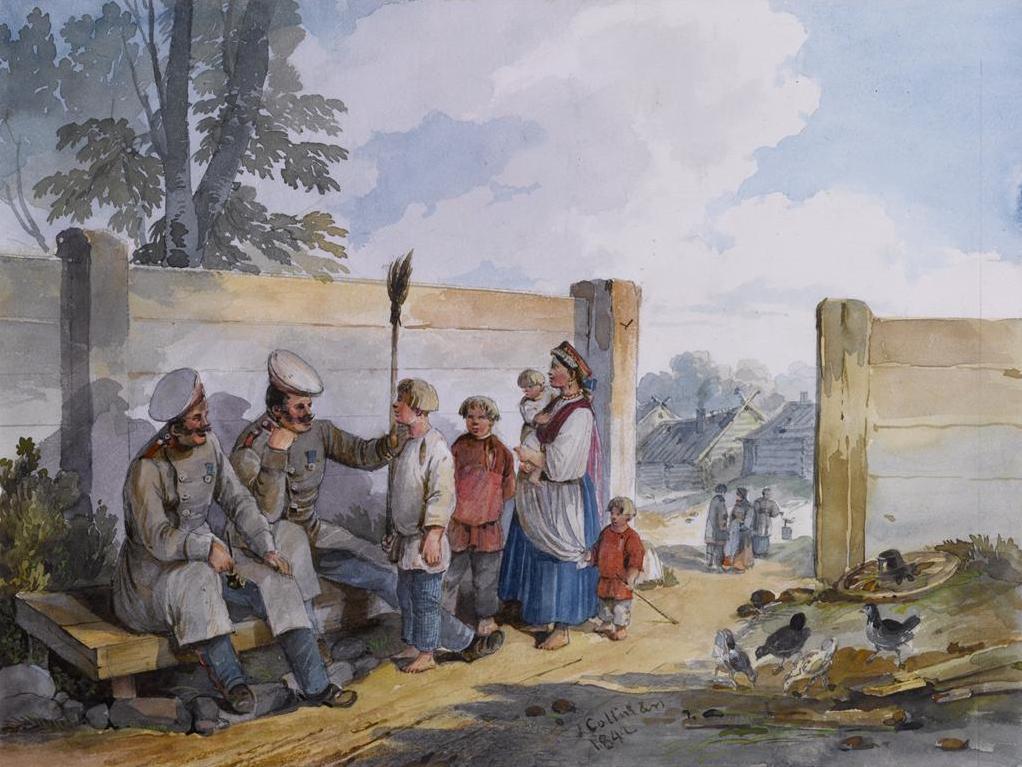 Carl Kollmann Soldats 1842.jpg