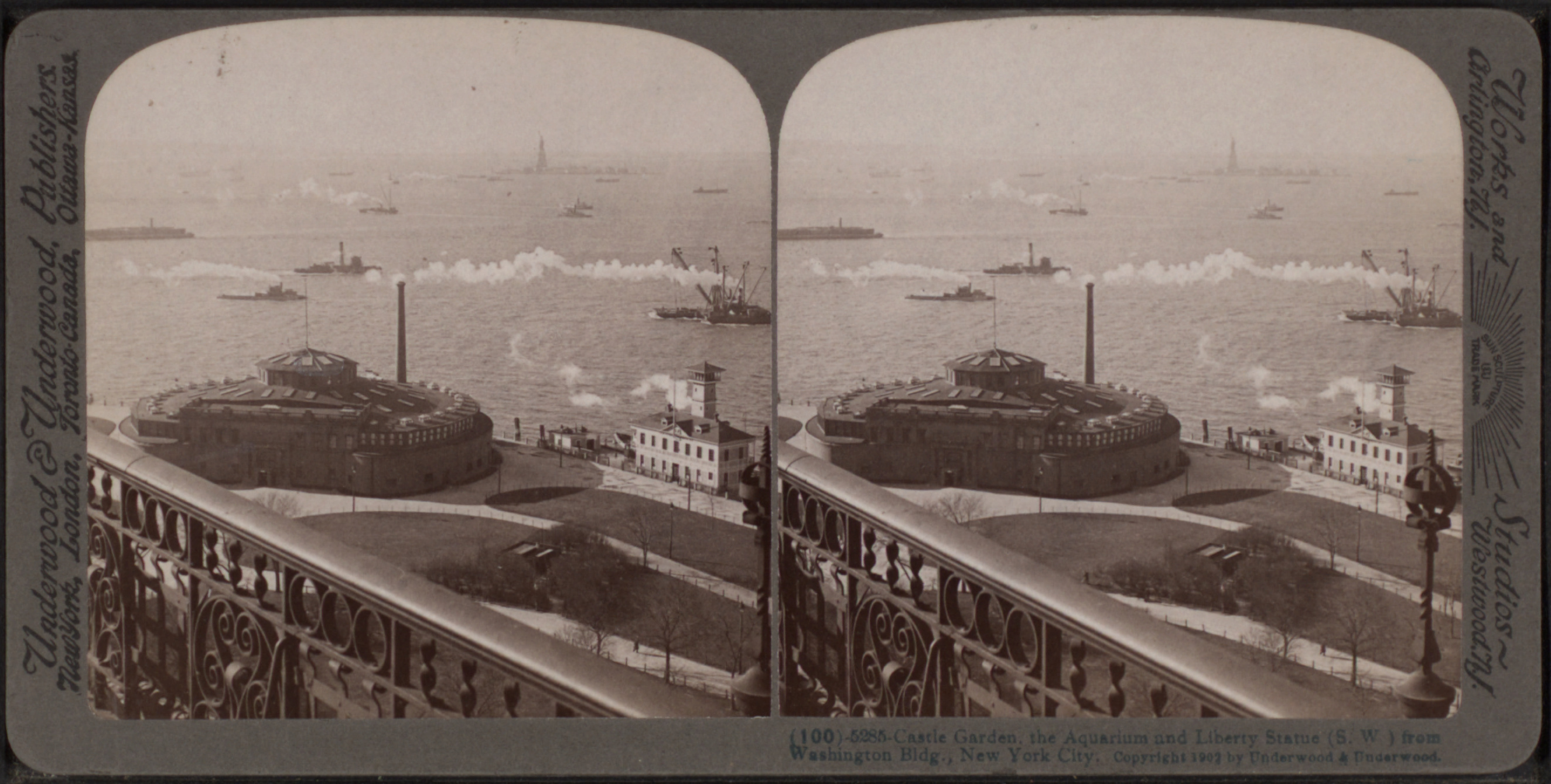 Castle_Garden%2C_the_Aquarium_and_Liberty_Statue_from_Washington_Building%2C_New_York_City%2C_from_Robert_N._Dennis_collection_of_stereoscopic_views Frais De Aquarium original