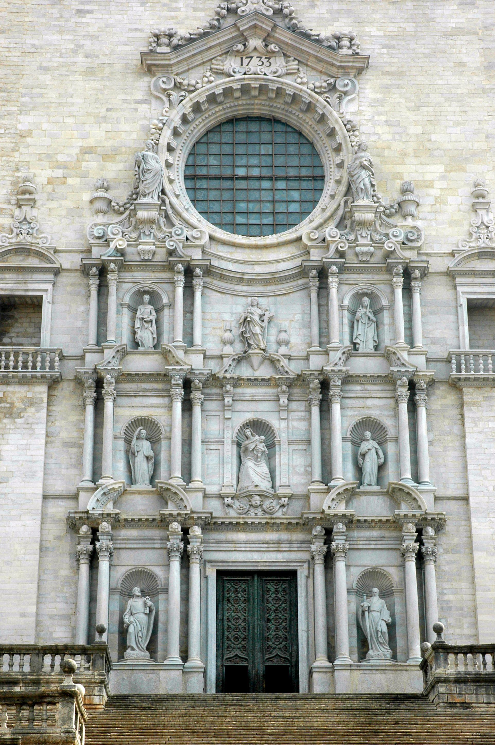 File Catedral De Girona Facana Jpg Wikimedia Commons