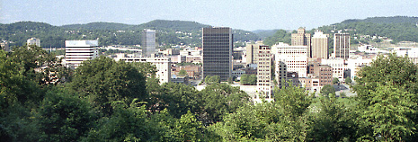 Charleston is West Virginia's most populous city