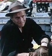 Screenshot of Charlton Heston from the trailer...