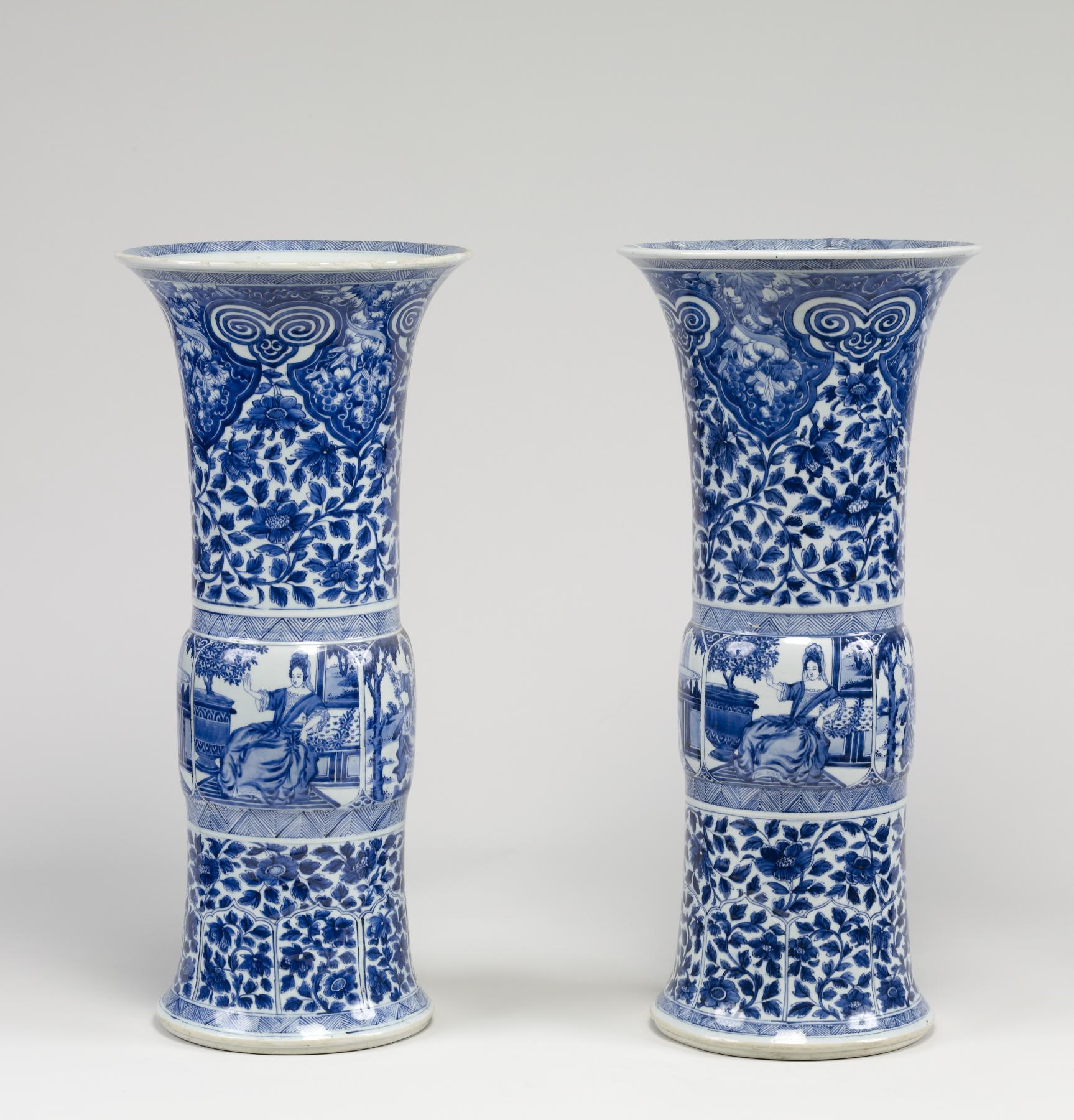 Chinese Art Glass Painting