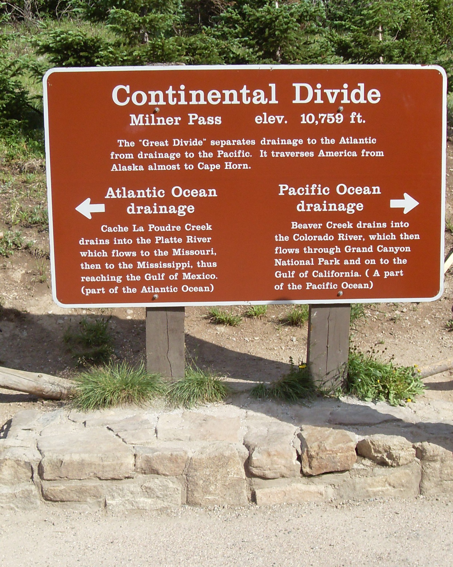 continental divide dating site A continental divide is an area of raised terrain that separates a continent's river systems that feed to different basins.