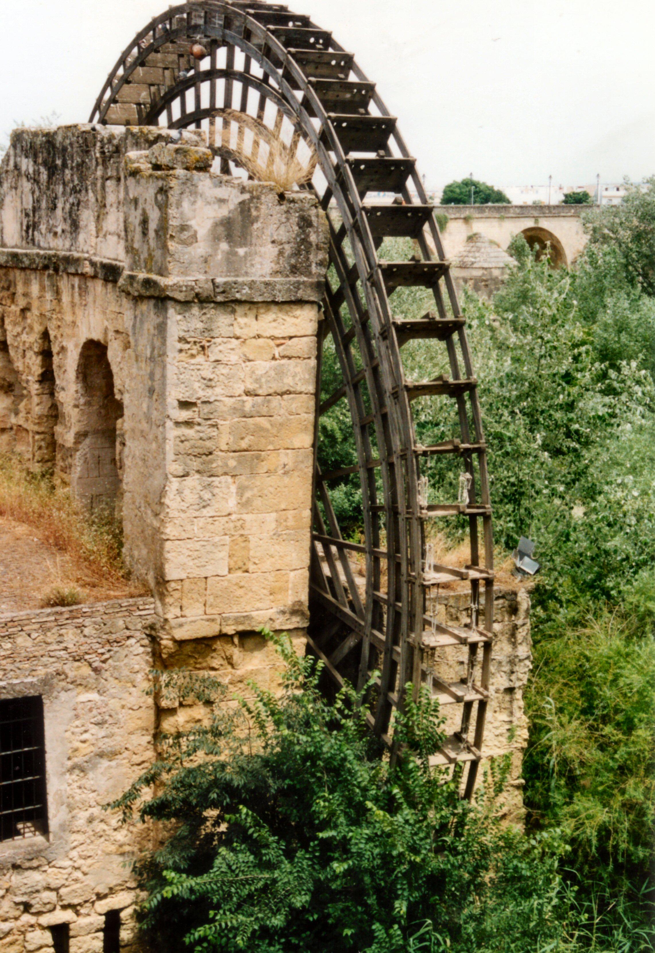 file cordoba water wheel jpg wikimedia commons