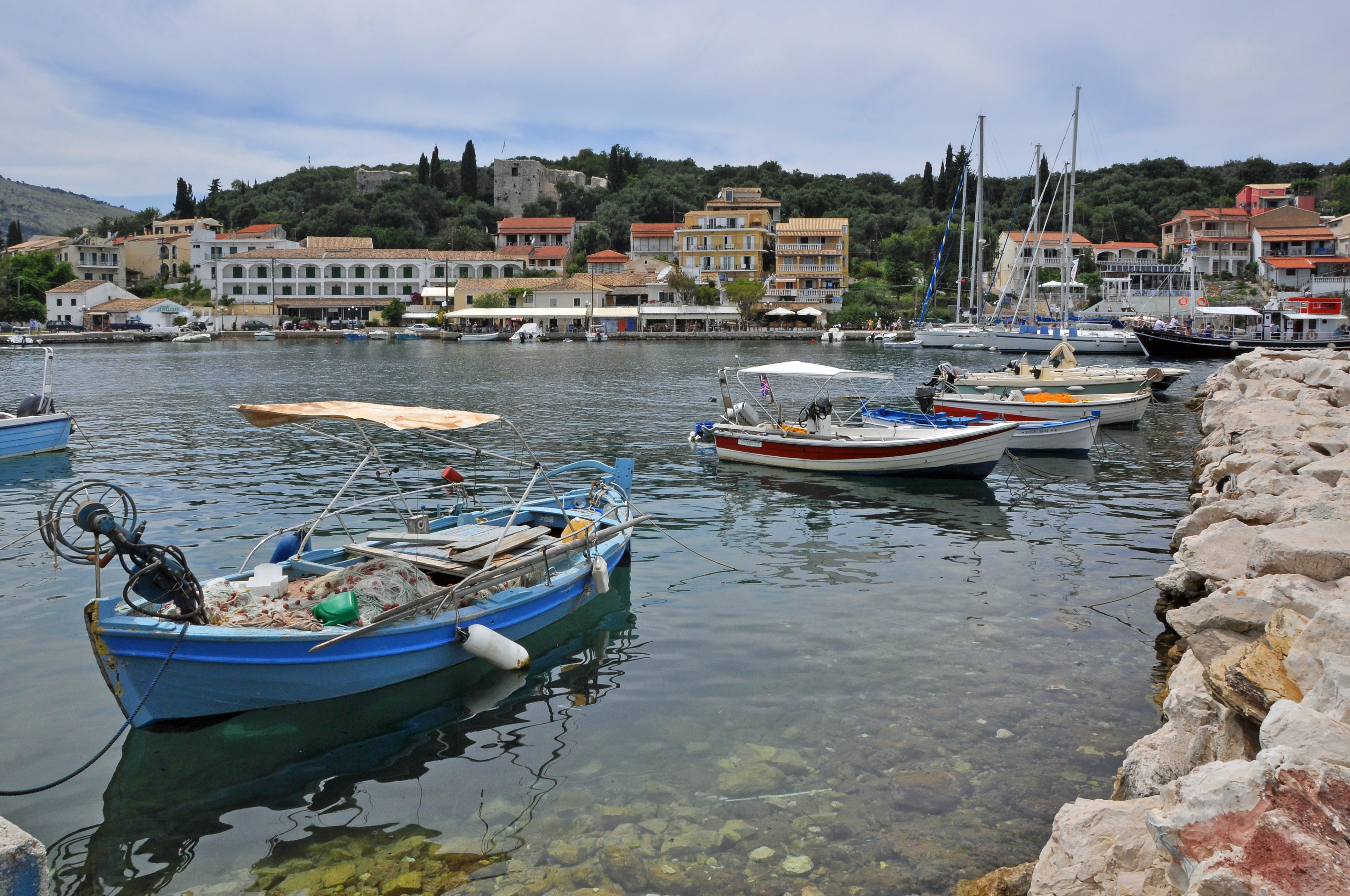Image result for kassiopi corfu