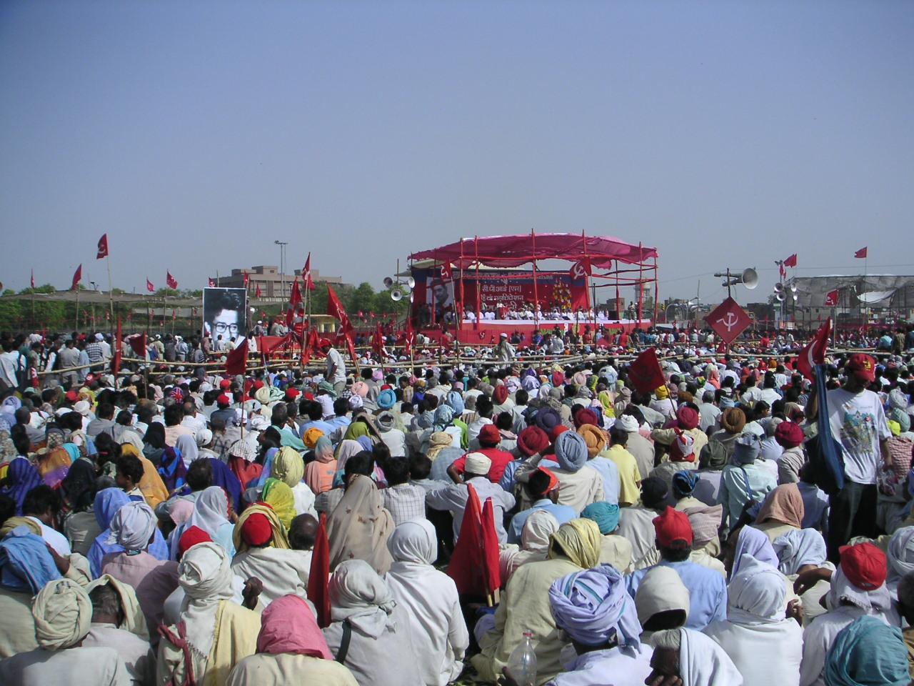 CPI(M) 18th Congress rally in Delhi