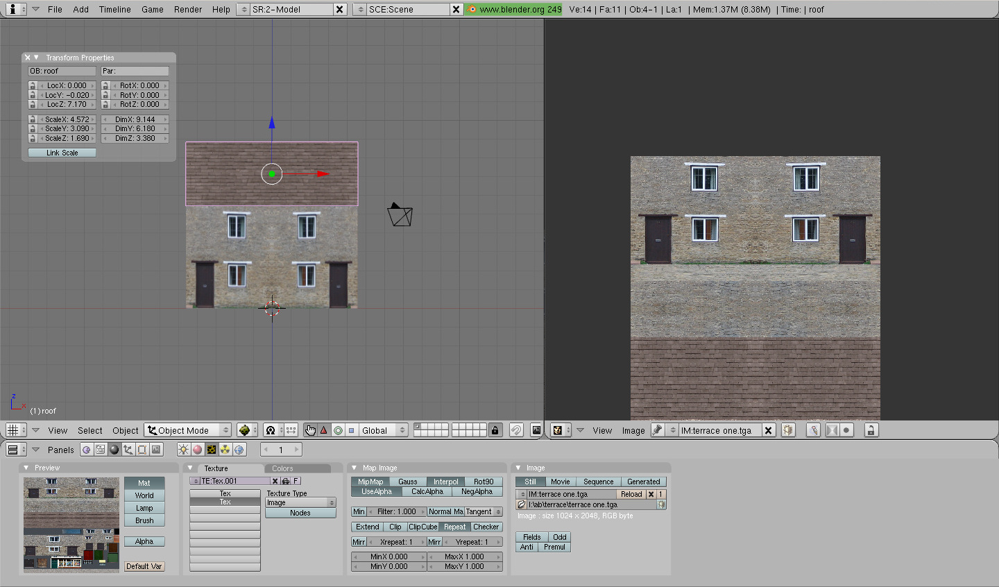Create house tutorial export screenshot in Blender9.jpg