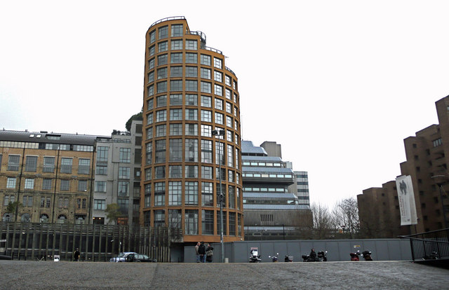 File:Cylindrical Offices Apartments Near Tate Modern   Geograph.org.uk