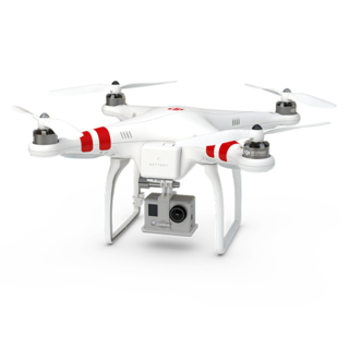 DJI releases the Phantom UAV in January which later became the world's most popular camera drone DJI-Phantom1.png