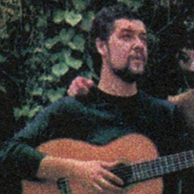 Damián Sánchez en 1968.