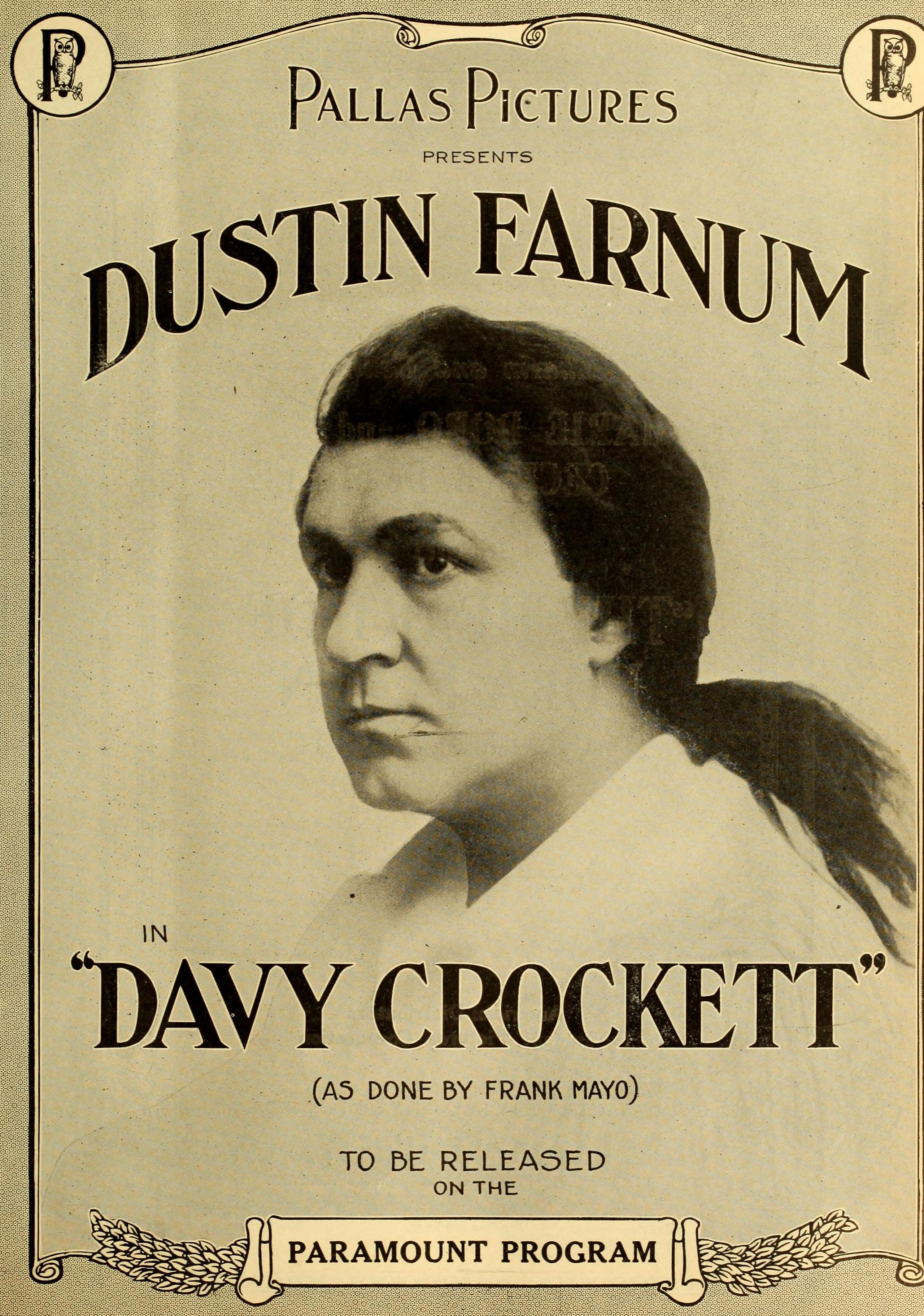 davy crockett David davy crockett (august 17, 1786 – march 6, 1836) was a 19th-century american folk hero, frontiersman, soldier, and politicianhe is commonly referred to in popular culture by the epithet king of the wild frontier.