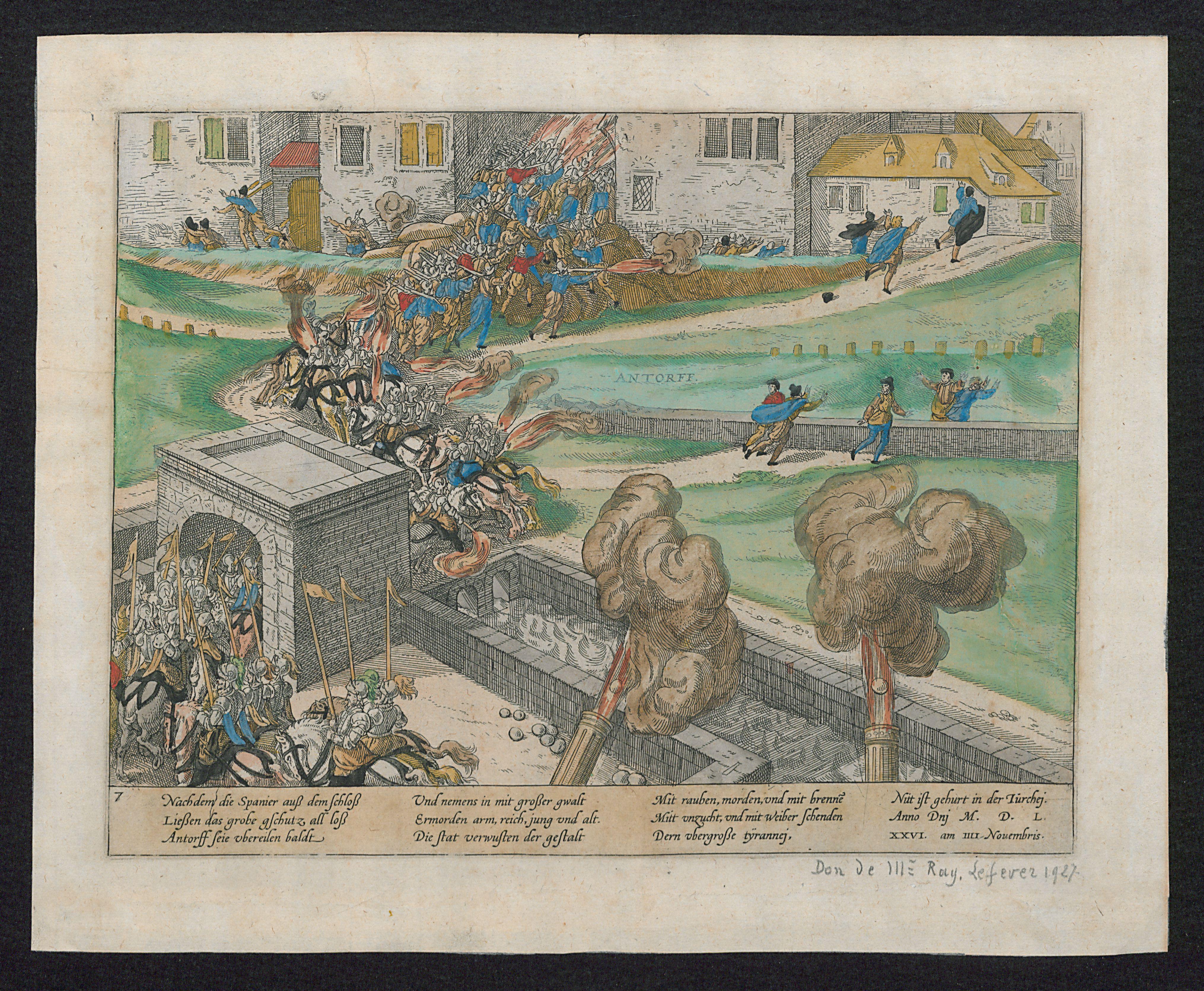 File:De beschieting van Antwerpen tijdens de Spaanse Furie, 4 november 1576 .jpg