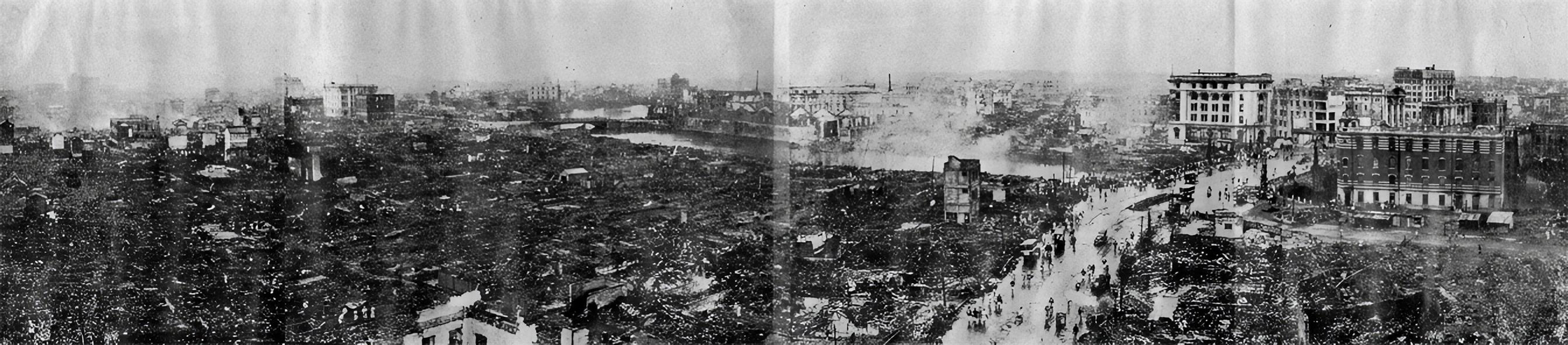 Desolation of Nihonbashi and Kanda after Kanto Earthquake.jpg