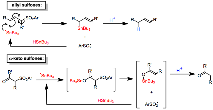 Desulfonylation Reactions Wikipedia