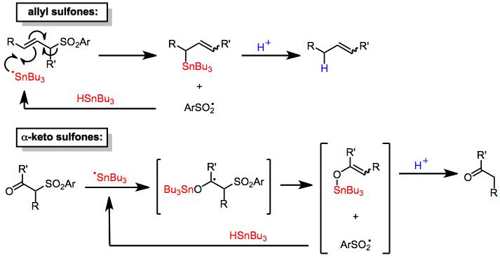 Desulfonylation Reactions Wikipedia