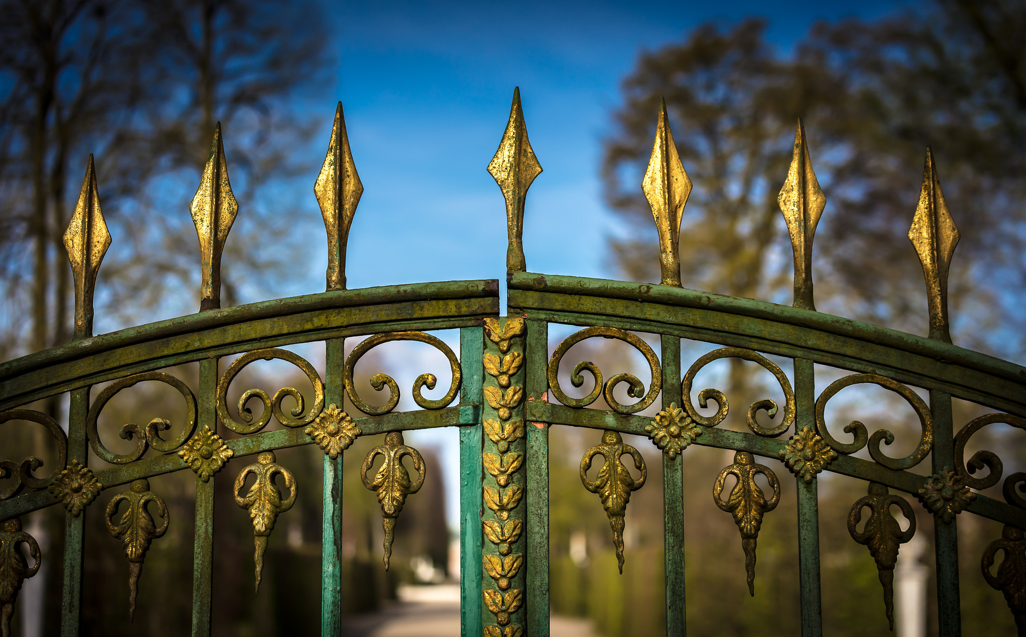 Potsdam, Tor zum Park Sanssouci