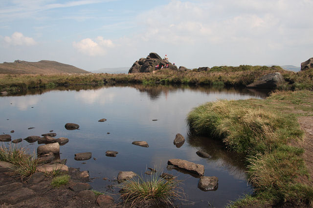 An image of Doxey Pool, home to plenty of lake folklore