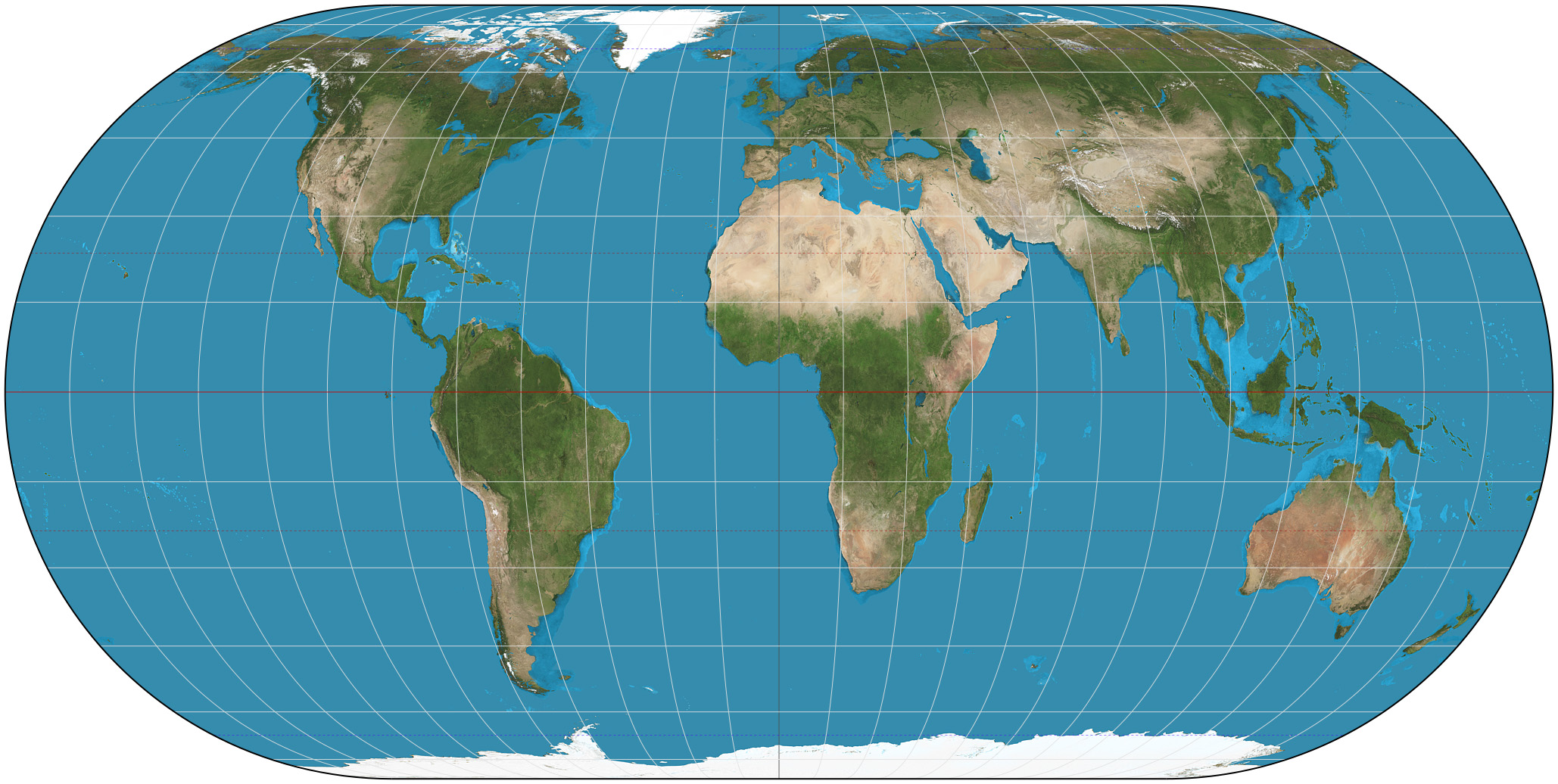 Eckert iv projection wikipedia eckert iv projection of the world publicscrutiny Image collections