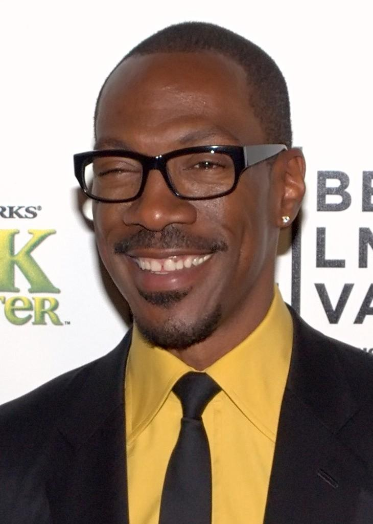 Eddie Murphy  - 2019 Black hair & brush cut hair style.