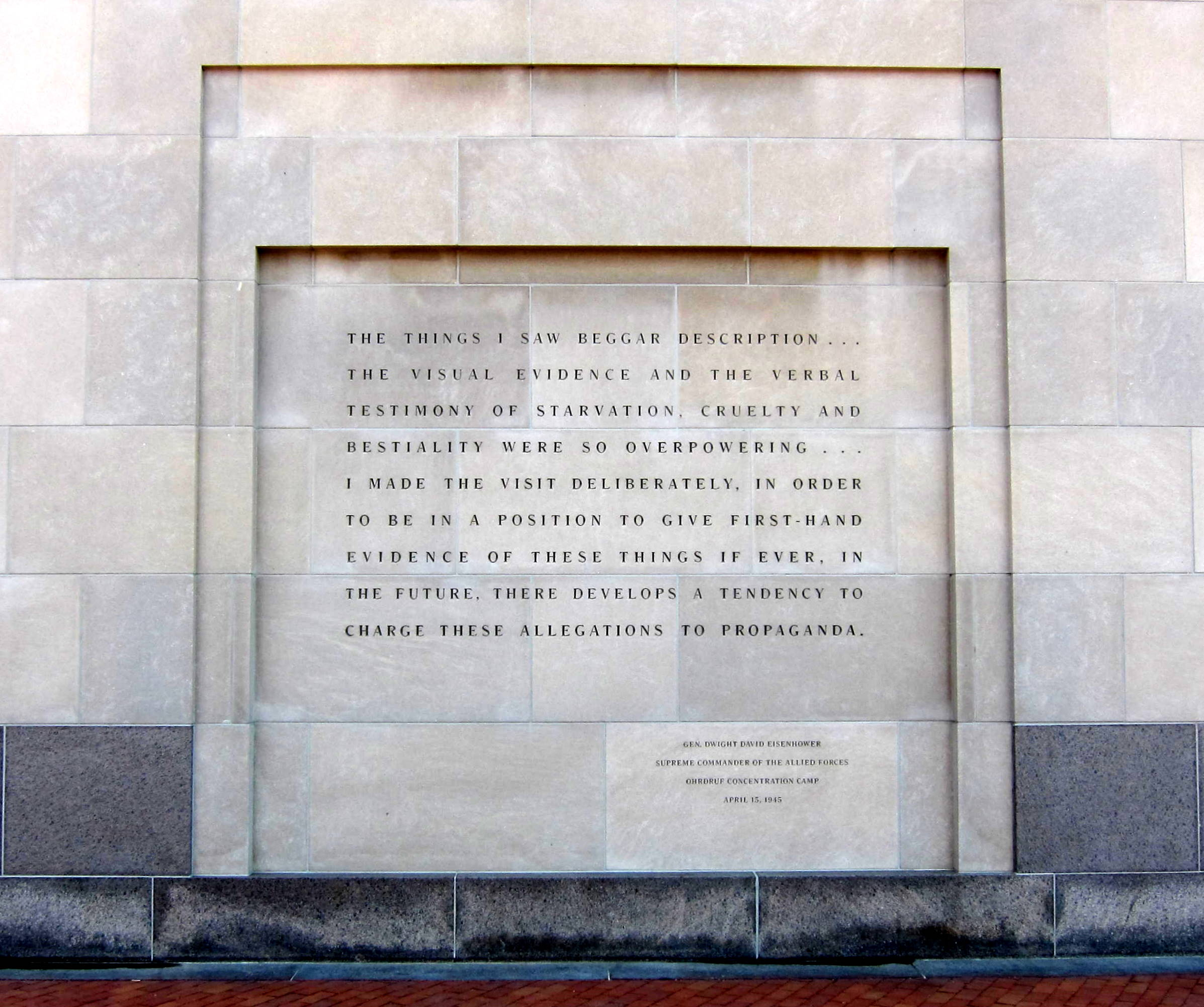 [Image: Eisenhower_quote_-_U.S._Holocaust_Memorial_Museum.JPG]
