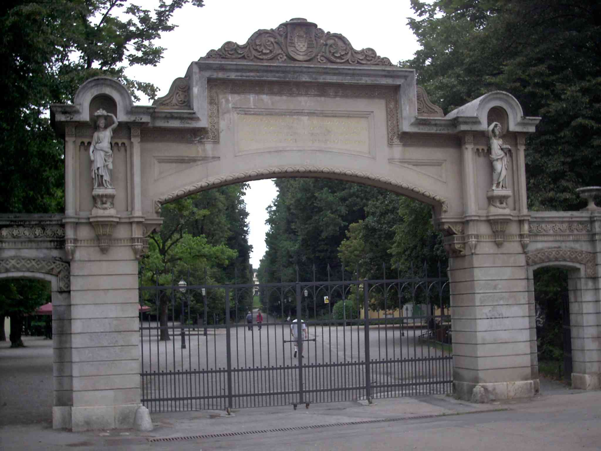 Maksimir Croatia  City new picture : Entrance to Maksimir Park, Zagreb, Croatia Wikipedia, the ...