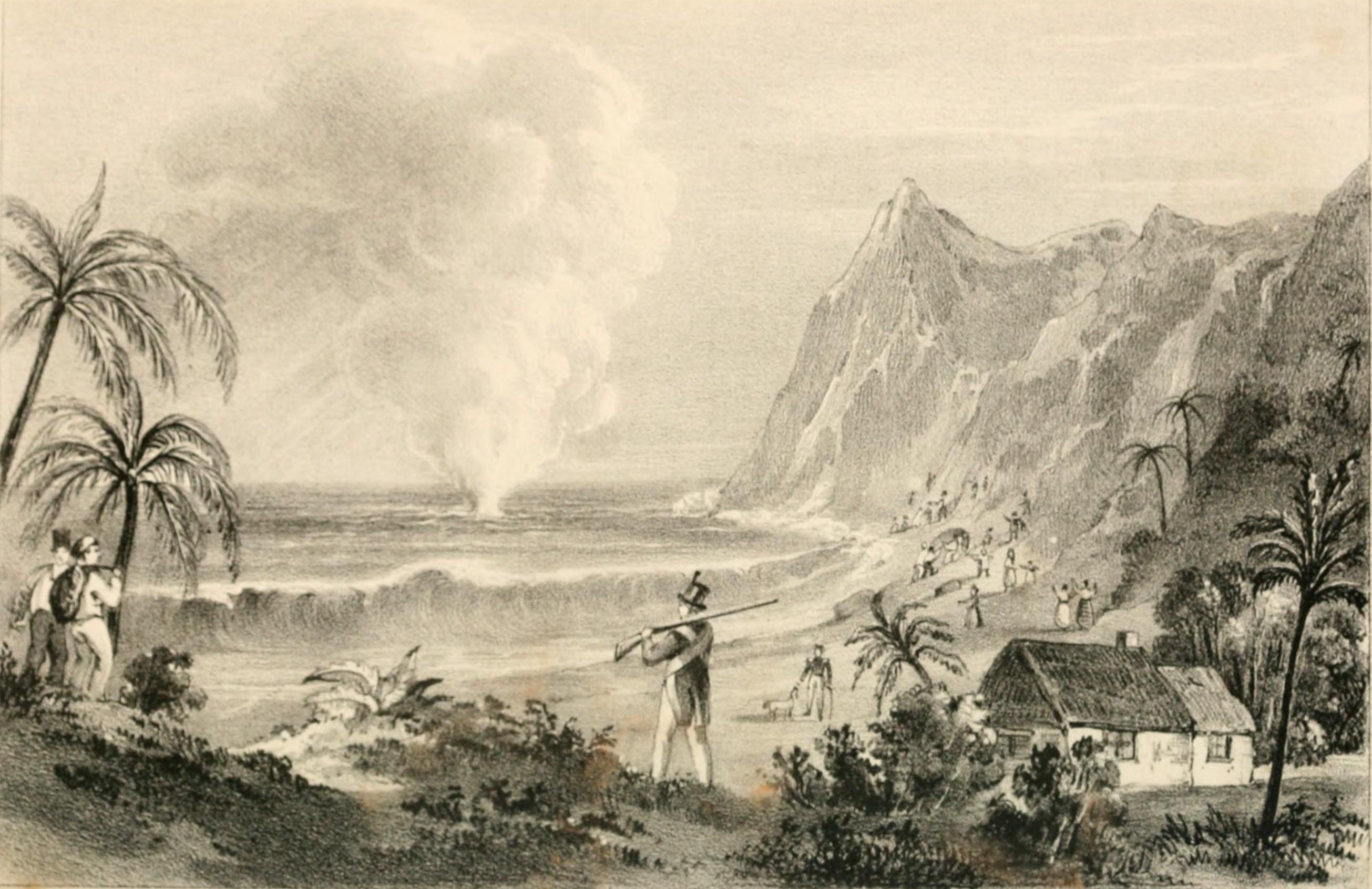 File:Erupción submarina en isla Juan Fernandez (1835).jpg