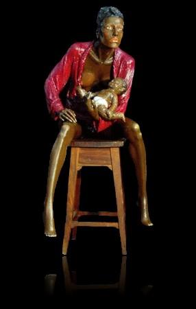 Archivo:Escultura de Jorge Melicio maebebe.jpg
