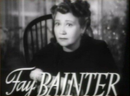 fay bainter white banners