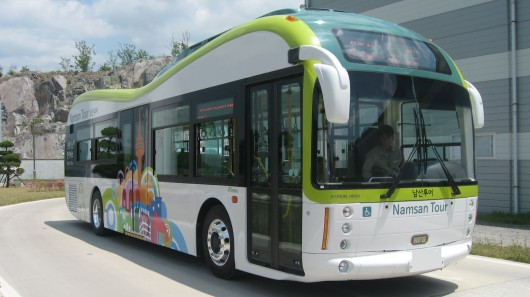 First-electric-bus