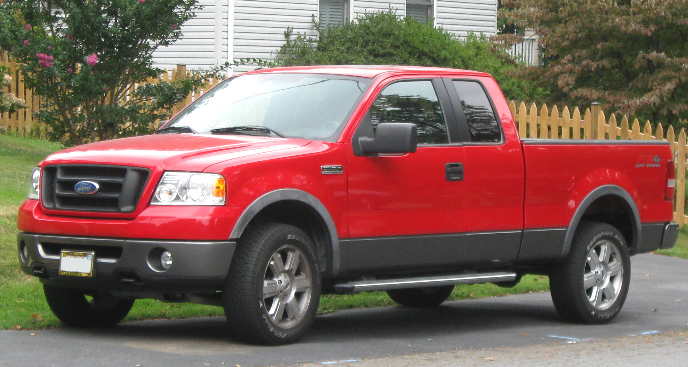 Wiring Diagram On 2007 F 150 Fx4 Diy Enthusiasts Diagrams 2004 Ford Lariat 4x4 File 09 07 2009 Wikipedia Rh En M Org Silver