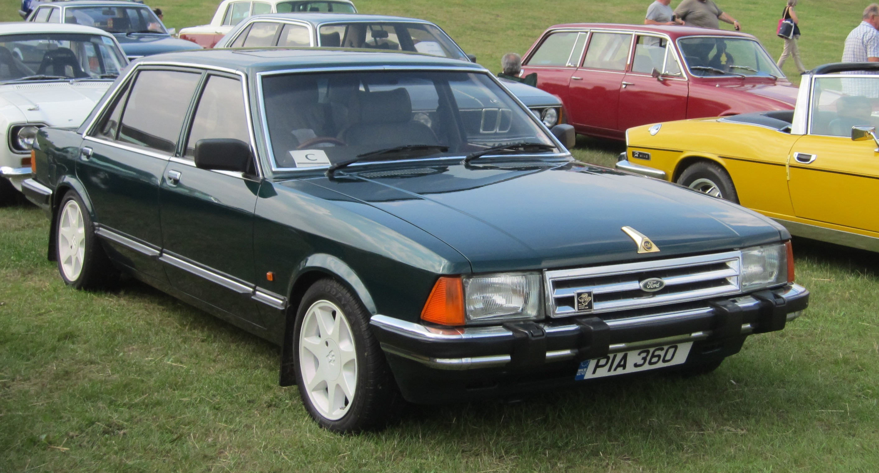 File Ford Granada Lengthened By Coleman Milne 2792cc