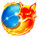 Animated Firefox logo (aPNG)