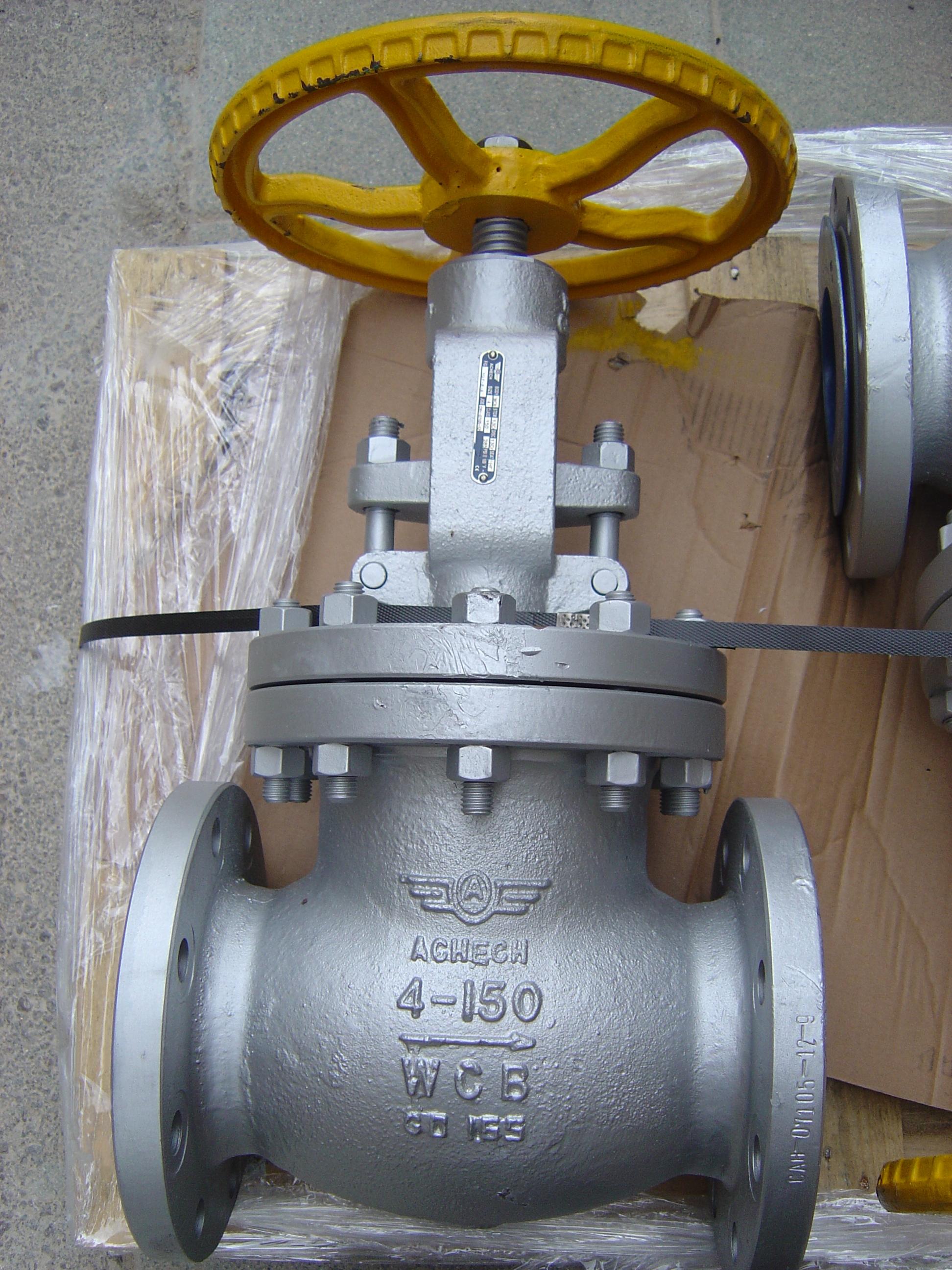 Клапан запорный, L=160