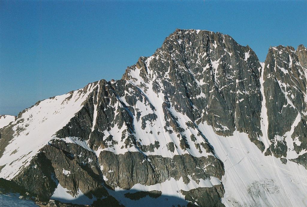 Granite Peak Montana Wikipedia - Map Of Mountain Ranges In Us